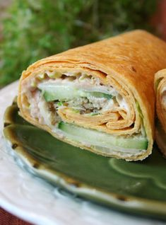 How to Make a Sandwich Wrap - some great combos, use a low carb tortilla and any of the recipes to keep it low carb