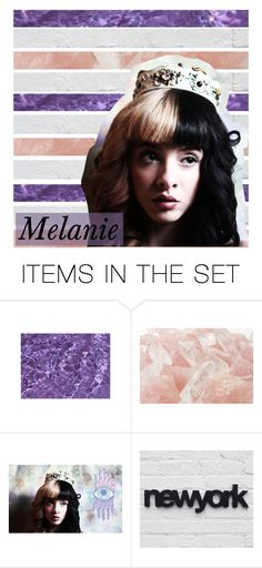 """""""☾CLOSED ICON"""" by birdy3000 ❤ liked on Polyvore featuring art, Melanie and birdysicons"""