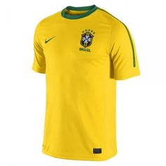Nike Men s Brazil 10 11 Home Jersey Varsity Maize Pine Green Pine Green 28b2046a37db6
