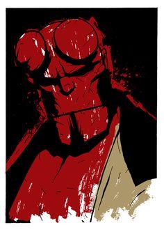 Hellboy by Matthew Dunn