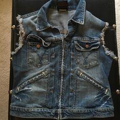 Children's Ruggid Denim Vest Children's Denim Vest with Ruggid Sleeves Jackets & Coats Vests