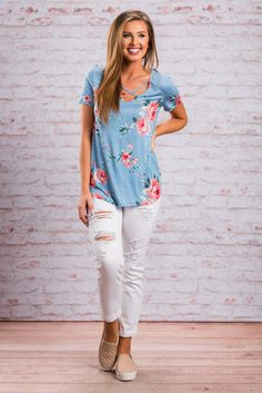 """""""Not Your Boyfriend's Skinny Jeans, White""""These casual skinny jeans are have the perfect amount of distressing! We love these for spring and summer! They have just enough ventilation! #newarrivals #shopthemint"""