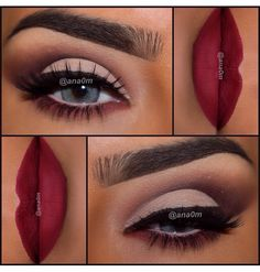 So in love with this look using the too faced chocolate bar pallet