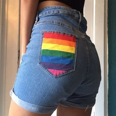 ON SALE Originally selling them for 30 Rainbow hand H M - Depop Mean Girls Outfits, Bbq Outfits, Girls Night Out Outfits, Pin Up Outfits, Casual Summer Outfits, Cute Outfits, Hawaii Outfits, Stage Outfits, Pride Outfit
