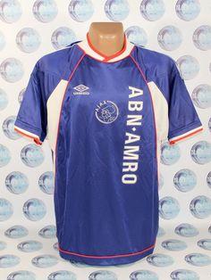 AJAX AMSTERDAM 1999 2000 AWAY FOOTBALL SOCCER SHIRT JERSEY TRIKOT MAILLOT  UMBRO (eBay Link) 68701cfdd