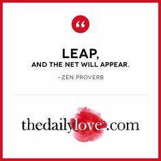 Visual Inspiration: Take A Leap!