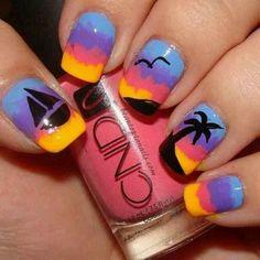 Cruise nails!!