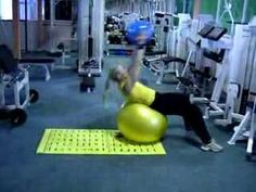 medicine fitball abs 2 - YouTube effecting fitness app www.fitia.ca
