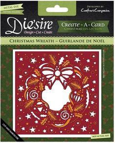 Crafter's Companion - Die'sire Create-A-Card Dies - Christmas Wreath