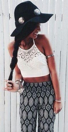 #summer #style / crochet + geometric