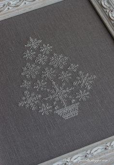 Серебряная ёлка / Silver Christmas tree - Вечерние посиделки
