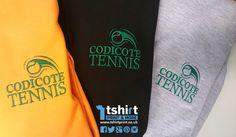 Get swishing into the tennis season with high quality embroidered hoodies and sweatshirts! Embroidered Hoodies, Tennis, Sweatshirts, T Shirt, Tops, Women, Fashion, Supreme T Shirt, Moda