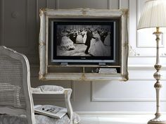 Wall-mounted TV cabinet 2482 by Grifoni Silvano