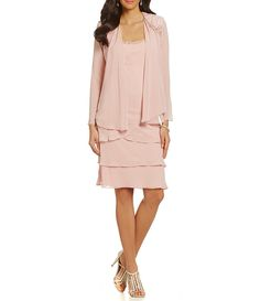 Shop for S.L. Fashions Lace-Shoulder Chiffon Jacket Dress at Dillards.com. Visit Dillards.com to find clothing, accessories, shoes, cosmetics & more. The Style of Your Life.