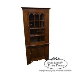 Stickley Cherry Corner Cabinet