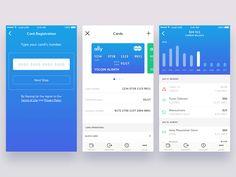 Finance 2 — Ally UI Kit by Yolqin Alimov