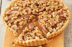 Our easy-to-make Apple Tart Crumble recipe, made with fresh apples, cinnamon cream cheese and a tender crumb topping, is sure to be a big hit at your next get-together of family or friends.