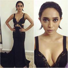 Filmfare Awards Disha Patani, Kriti Sanon, Sonakshi Sinha among the ditzy divas who went Bold with Black on the red carpet! Bollywood Fashion, Bollywood Style, Photoshoot Images, Indian Fashion, Style Fashion, Fashion Beauty, Disha Patani, Red Carpet, Diva