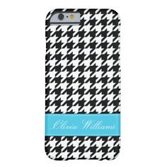 Stylish Houndstooth iPhone 6 Case