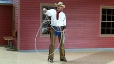 Cowboy physics? The physics behind the cowboy rope trick has finally been explained.