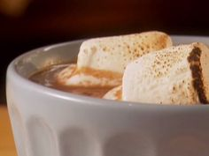 Work-a-holic's Hot Chocolate recipe  via Food Network  Italian Thick Hot Cholocate Recipe curtesy Max Brenner