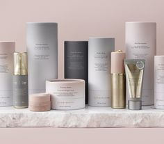 Coquette: Cosmedicine Gold Standard Collection: Luxury Anti-Aging Skincare Skincare Packaging, Luxury Packaging, Cosmetic Packaging, Beauty Packaging, Brand Packaging, Product Packaging, Graphisches Design, Label Design, Package Design