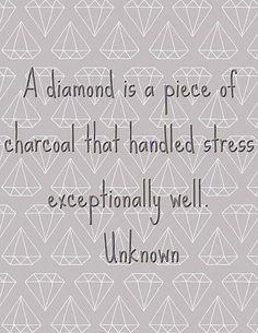 A diamond  www.ThisIsForReal.BodyByVi.com