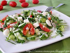 Salad Recipes, Healthy Recipes, Healthy Food, Healthy Style, Caprese Salad, Healthy Lifestyle, Grilling, Appetizers, Food And Drink