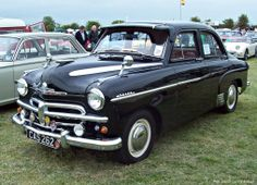 1953 Vauxhall Velox EIPV.Launched in 1951 as the EIP Velox with a 2275cc engine but after less than one year re-designated EIPV with a new ohc 2262cc engine producing 64bhp or 68bhp with improved compression ratio.