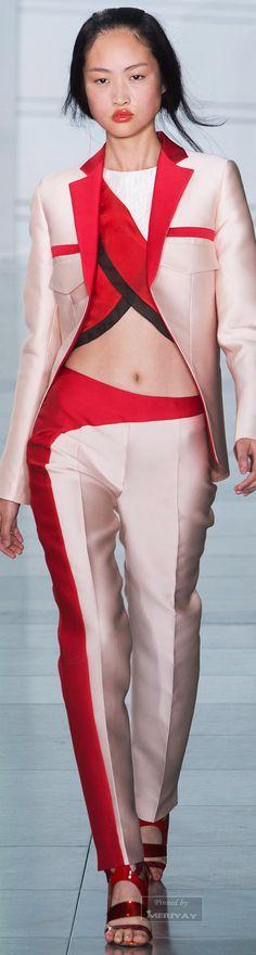 Antonio Berardi.Spring-summer 2015. The trousers <3