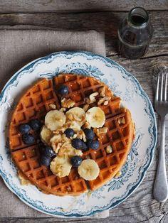 Hva gjør man med brune bananer? - Mat På Bordet No Bake Cake, Muffins, Mat, Bread, Cookies, Baking, Breakfast, Healthy, Recipes