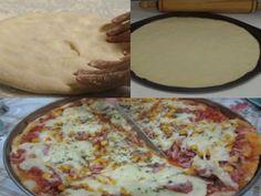 Receita Massa de Pizza Fácil com 3 Ingredientes