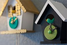 Build cuckoo clock yourself – a functional gem - DIY Decorations Diy Home Crafts, Crafts To Do, Crafts For Kids, Arts And Crafts, Diy Clock, Clock Craft, Clock Wall, Clock Decor, World Thinking Day