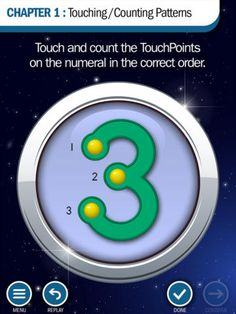 TouchMath Adventures: Touching/Counting Patterns ($0.00)  uses a unique multisensory approach to mathematics to make the subject fun, accessible and appealing for all learners. Appropriate for pre-K–1st grade, as well as Response to Intervention (RtI), remediation, and special education, students take on the role of an intrepid explorer on a quest to unravel mysteries through a combination of problem solving and reward-based gameplay.