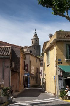 Bedoin (France) - at the base of Mt Ventoux