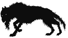 Image result for cartoon big black shaggy dog