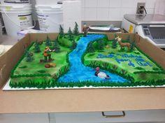 Deer Hunter Cake