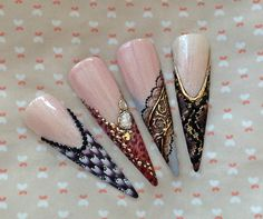 NailArt on tips - 2. page