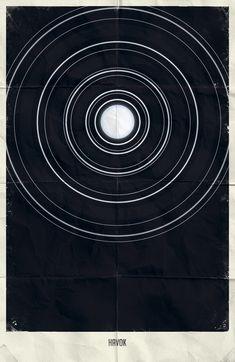 Marvel Minimalist Posters Vol.2 by Marko Manev, via Behance