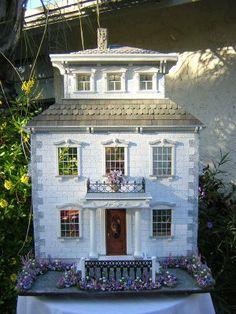 Dollhouses by Robin Carey: The Sea Captain's House ~ Victorian Manor