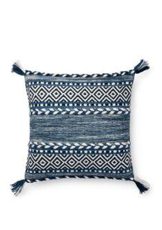 Buy the Loloi Rugs Indigo Direct. Shop for the Loloi Rugs Indigo Boho Striped Cotton Accent Pillow Cover and save. Modern Throw Pillows, Blue Throw Pillows, Throw Pillow Covers, Accent Pillows, Home Decor Accessories, Decorative Throw Pillows, Diy, Indigo, Apartment Living