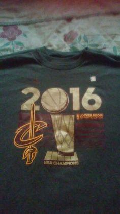 Cleveland Cavaliers Authentic 2016 NBA Championship Locker Room T-Shirt (XXL)…