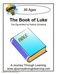 FREE} The Book of Luke Lapbook