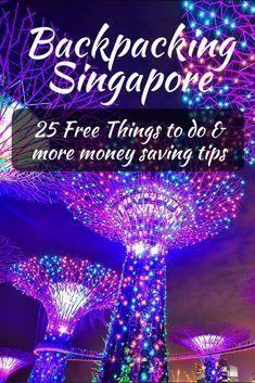 Backpacking Singapore: Money Saving Tips & 25 Free Things To Do - Global Gallivanting Travel Blog