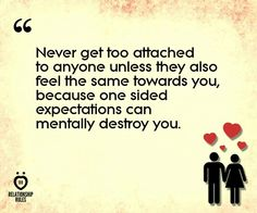 Never get too attached? Ummm... I'm not so sure.