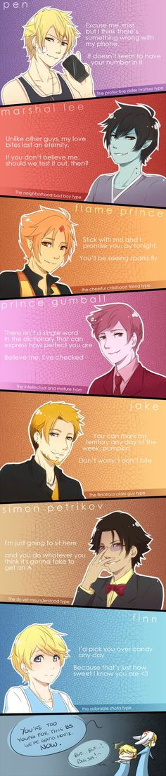 If AT was a dating game (REMADE) by Katkat-Tan on DeviantArt: