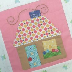 It& time for another episode of the Cozy Christmas Sew Along:) I& super excited that we have started making my . Christmas Fabric, Cozy Christmas, Christmas Bells, Little Christmas, House Quilt Block, House Quilts, Quilt Blocks, Bee In My Bonnet, Quilting Board