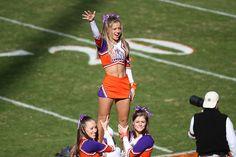 Clemson cheerleaders, #cheer collegiate college cheerleading m.13.2 #KyFun