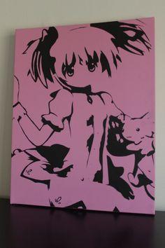 Madoka Kaname Canvas Art (Puella Magi Madoka Magica)