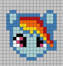Výsledek obrázku pro perler bead patterns my little pony
